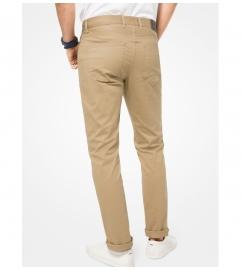 Michael Kors Mens Parker Slim-Fit Stretch-Twill Pants