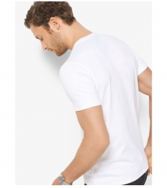 Michael Kors Mens Cotton Crewneck T-Shirt
