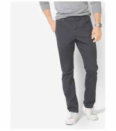 Michael Kors Mens Slim-Fit Cotton-Twill Five-Pocket Pants