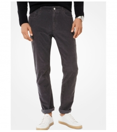 Michael Kors Mens Parker Slim-Fit Corduroy Pants