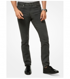 Michael Kors Mens Parker Parker Slim-Fit Cotton-Blend Jeans