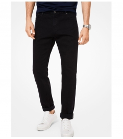 Michael Kors Mens Parker Slim-Fit Stretch-Selvedge Jeans