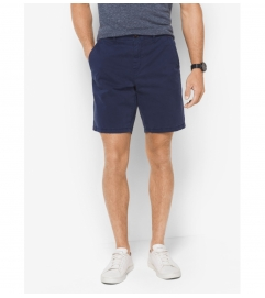 Michael Kors Mens Slim-Fit Cotton-Twill Shorts