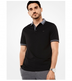 Michael Kors Mens Greenwich Cotton Polo Shirt