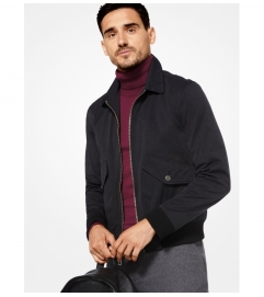 Michael Kors Mens Tech Bomber Jacket