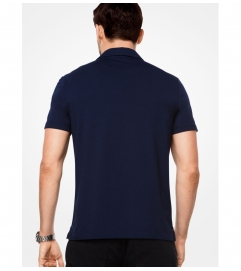 Michael Kors Mens Bryant Stretch-Cotton Polo Shirt