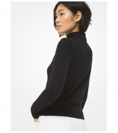 MICHAEL Michael Kors Cashmere Cutout Sweater