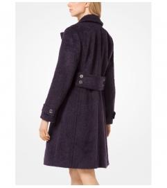 MICHAEL Michael Kors Mohair Officer's Coat
