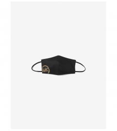 MICHAEL Michael Kors Studded Logo Stretch Cotton Face Mask