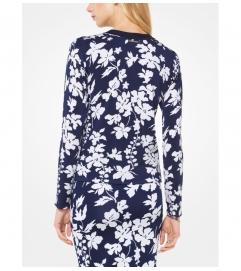 MICHAEL Michael Kors Floral Stretch-Viscose Pullover