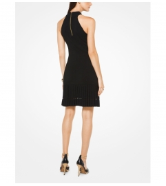 MICHAEL Michael Kors Viscose-Blend Halter Dress