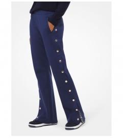 MICHAEL Michael Kors Logo Tape Buttoned Track Pants