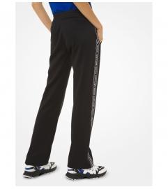 MICHAEL Michael Kors Logo Tape Ponte Track Pants