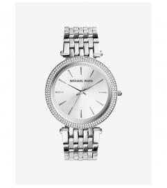 Michael Kors Darci Silver-Tone Watch