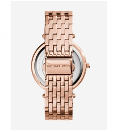Michael Kors Darci Pavé Rose Gold-Tone Watch