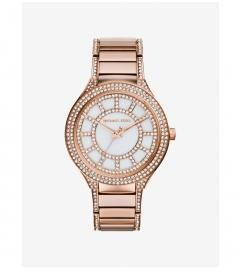Michael Kors Kerry Pavé Rose Gold-Tone Watch