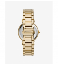 Michael Kors Catlin Pavé Gold-Tone Watch