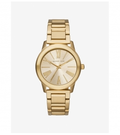 Michael Kors Hartman Gold-Tone Watch