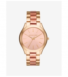 Michael Kors Slim Runway Two-Tone Watch