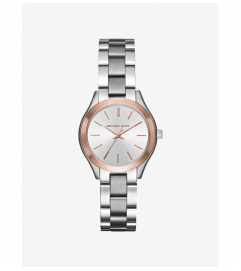 Michael Kors Mini Slim Runway Two-Tone Watch
