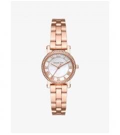 Michael Kors Petite Norie Rose Gold-Tone Watch