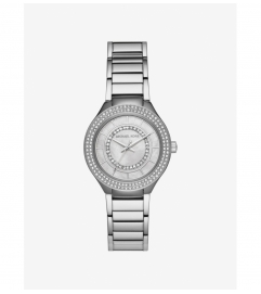 Michael Kors Mini Kerry Silver-Tone Watch