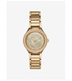 Michael Kors Mini Kerry Gold-Tone Watch