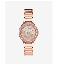 Michael Kors Mini Kerry Rose Gold-Tone Watch