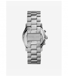 Michael Kors Runway Silver-Tone Stainless Steel Chronograph Watch