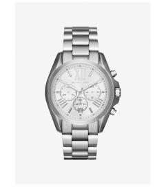 Michael Kors Oversize Bradshaw Silver-Tone Watch