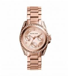 Michael Kors Mini Blair Rose Gold-Tone Watch