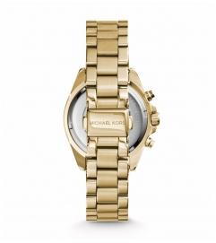Michael Kors Bradshaw Gold-Tone Stainless Steel Watch