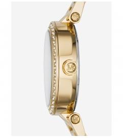 Michael Kors Parker Mini Pavé Gold-Tone Watch