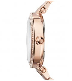 Michael Kors Parker Blush Acetate And Rose Gold-Tone Watch