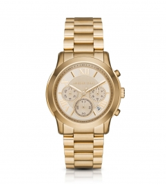 Michael Kors Cooper Gold-Tone Watch