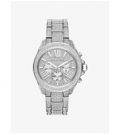 Michael Kors Wren Silver-Tone Watch