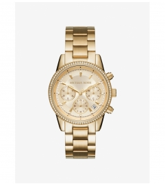 Michael Kors Ritz Gold-Tone Watch