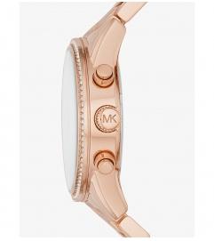 Michael Kors Ritz Rose Gold-Tone Watch