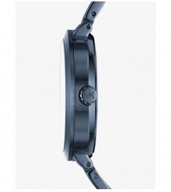Michael Kors Garner Navy-Tone Watch