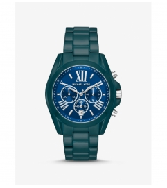 Michael Kors Oversized Bradshaw Teal Coated Watch