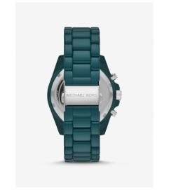 Michael Kors Oversized Bradshaw Teal Coated Watch