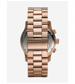 Michael Kors Runway Oversized Rose Gold-Tone Watch