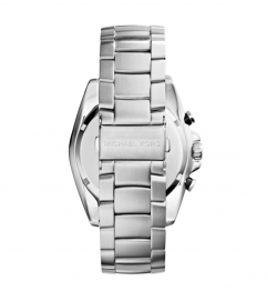 Michael Kors Jetmaster Silver-Tone Watch