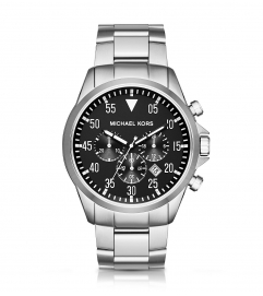 Michael Kors  Gage Silver-Tone Watch