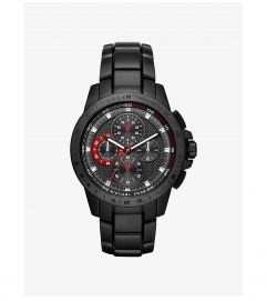 Michael Kors Ryker Black-Tone Watch