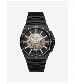 Michael Kors Wilder Automatic Black-Tone Watch