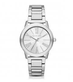 Michael Kors Hartman Silver-Tone Watch