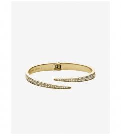 Michael Kors Matchstick Pavé Gold-Tone Cuff