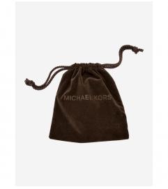 Michael Kors Pavé Silver-Tone Heart Charm Earrings