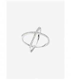 Michael Kors Pavé Silver-Tone Ring